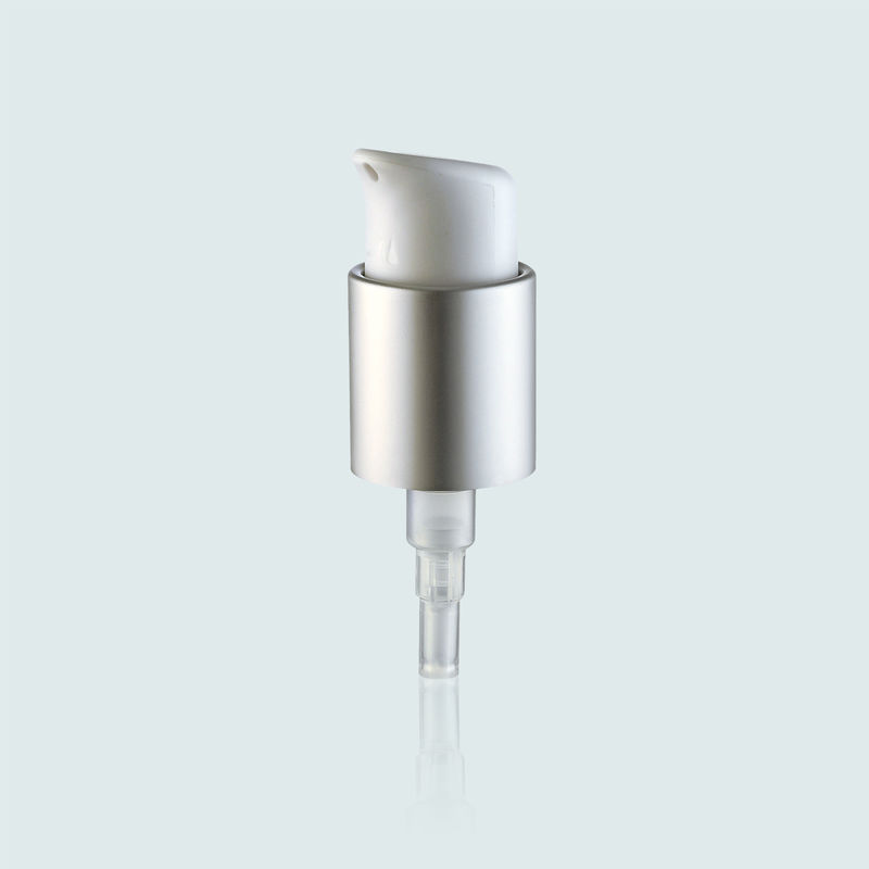 24mm Metal Shell JY505-01E Cosmetic Treatment Pumps Soft / Smooth Feel On Actuation